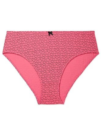 Printed High Cut Cotton Brief Panty - Ti Voglio