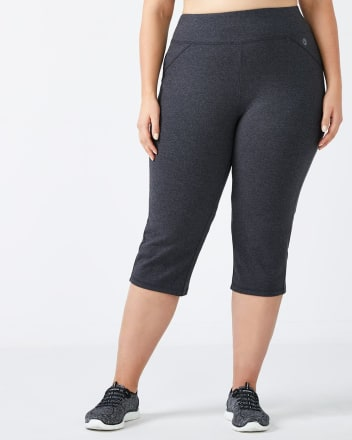 ONLINE ONLY - Essentials - Plus-Size Basic Yoga Capri