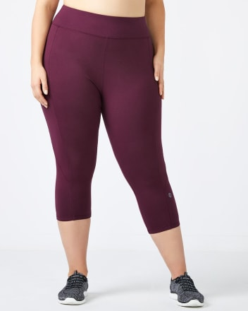 ONLINE ONLY - Essentials - Plus-Size Basic Capri Legging