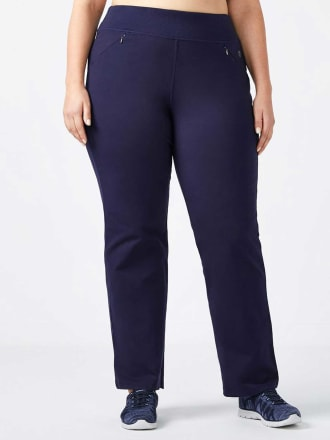 ONLINE ONLY - Petite Plus-Size Basic Relaxed Pant - Essentials