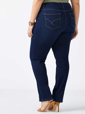 Slightly Curvy Fit Straight Leg Jean - d/c JEANS
