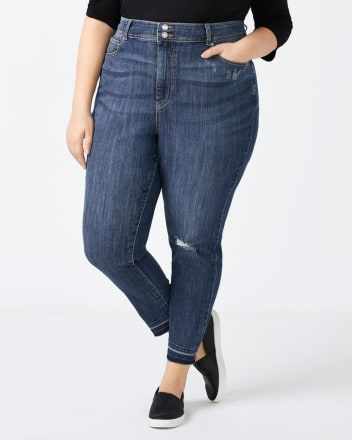 Curvy Fit High Rise Skinny Jean - d/c Jeans