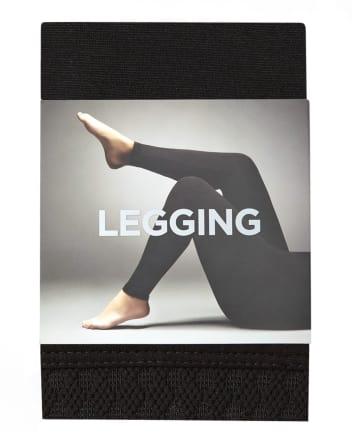 Legging à taille texturée