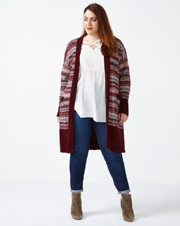 d/c JEANS Patterned Duster Cardigan