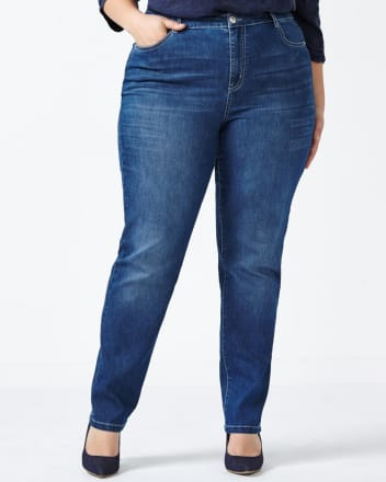 d/c JEANS - Jeans droit, coupe légèrement galbée