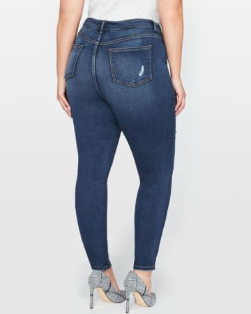 L&L Super Soft Distressed Jegging