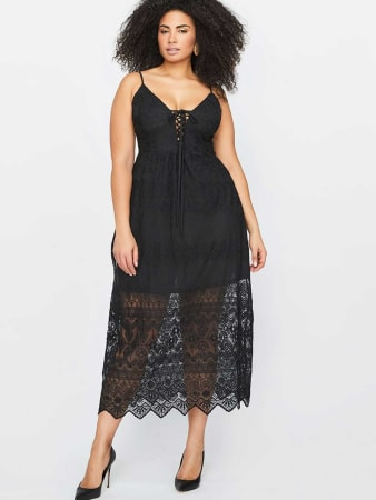 City Chic Maxi Festival Dress