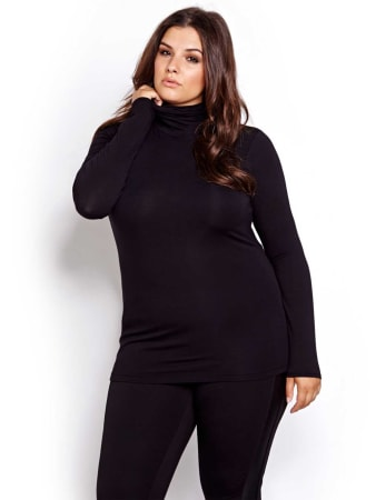 Michel Studio Long Sleeve Turtleneck
