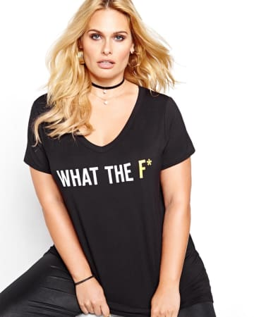 T-shirt What the F* L&L