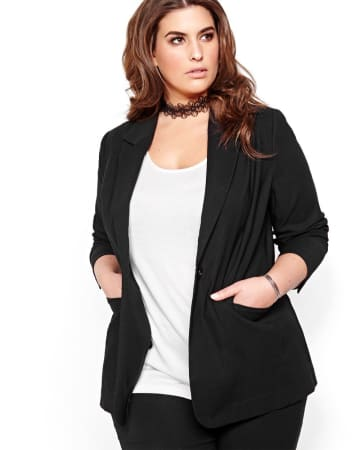 Michel Studio Long-Sleeved Blazer