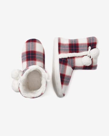 Memory Foam Slipper Boots