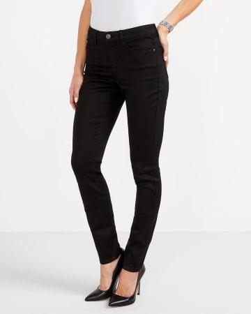 The Signature Soft Skinny Black Jeans