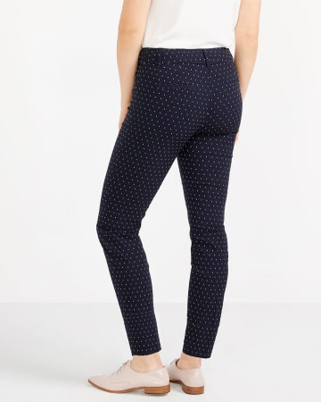Pantalon à la cheville à pois L'Iconique