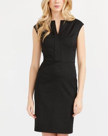 Willow & Thread Cap Sleeve Polka Dot Dress