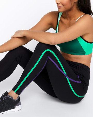 Legging avec bandes contrastantes Hyba