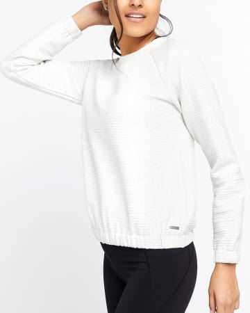Hyba Quilted Sweater