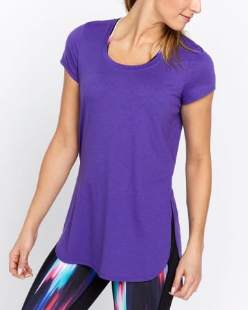 Hyba Side Slit T-Shirt