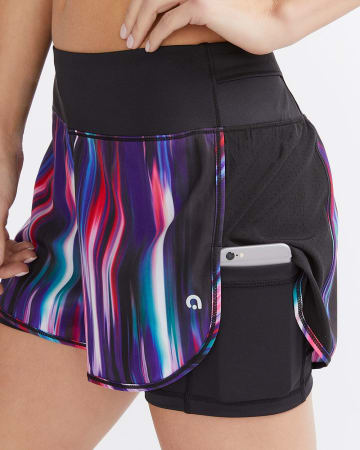 Hyba Printed Shorts