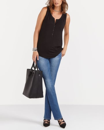 The Petite Original Comfort Straight Leg Jeans