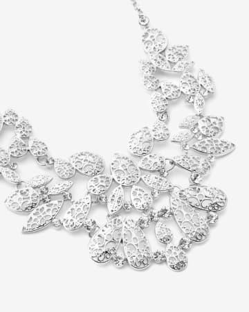 Leaf Statement Necklace