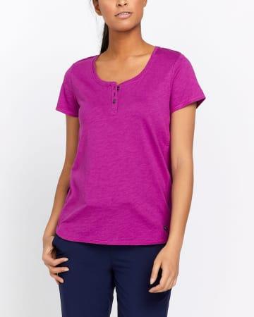 T-shirt henley Hyba