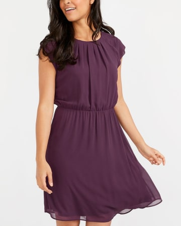Cap Sleeve Dress
