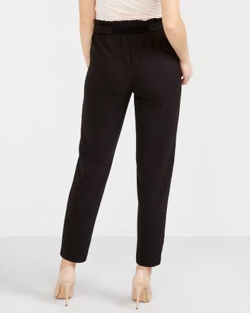 Tall Skinny Paper Bag Waist Pants