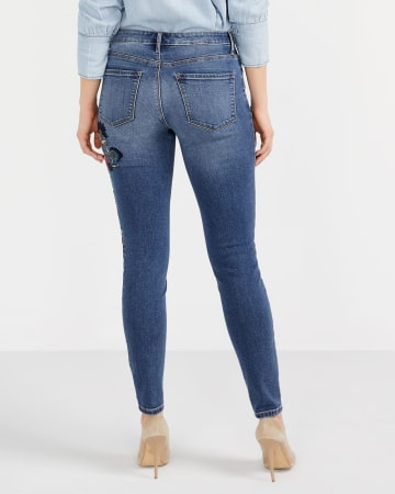 The Insider Embroidered Skinny Jeans