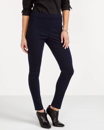 Petite Jacquard Pattern Leggings
