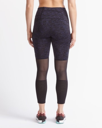 Hyba Space Dye Mesh Legging