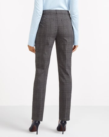 The Petite New Classic Plaid Pants