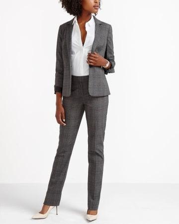The Tall New Classic Plaid Pants