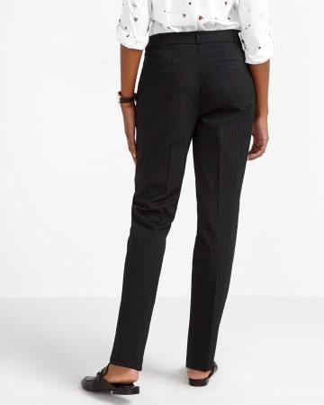 The New Classic Straight Leg Striped Pants