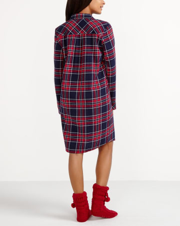 Plaid Nightgown