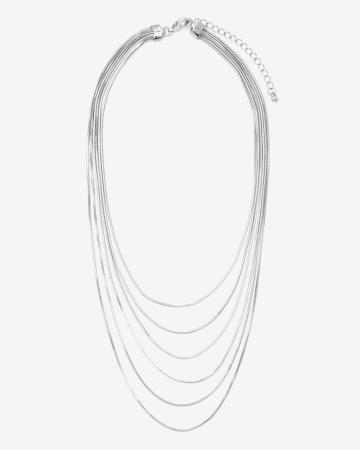 Collier court à chaînes multiples
