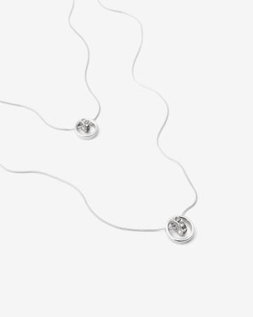 2-Row Pendant Necklace