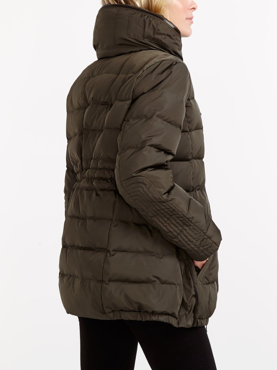 Sporty Maternity Down Coat with Extender Panel