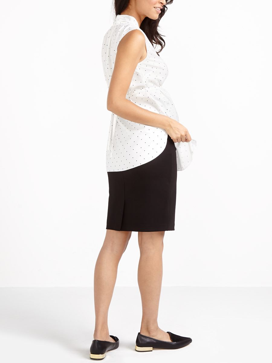 Stork & Babe - Ponte Maternity Pencil Skirt