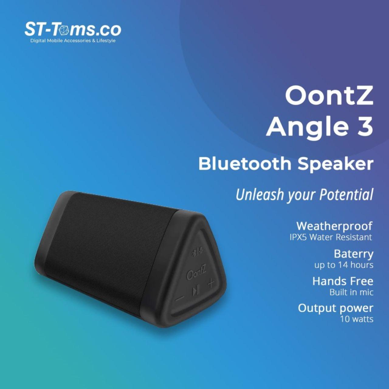 Speaker Oontz Angle 3 Cambridge SoundWorks Bluetooth Hitam3