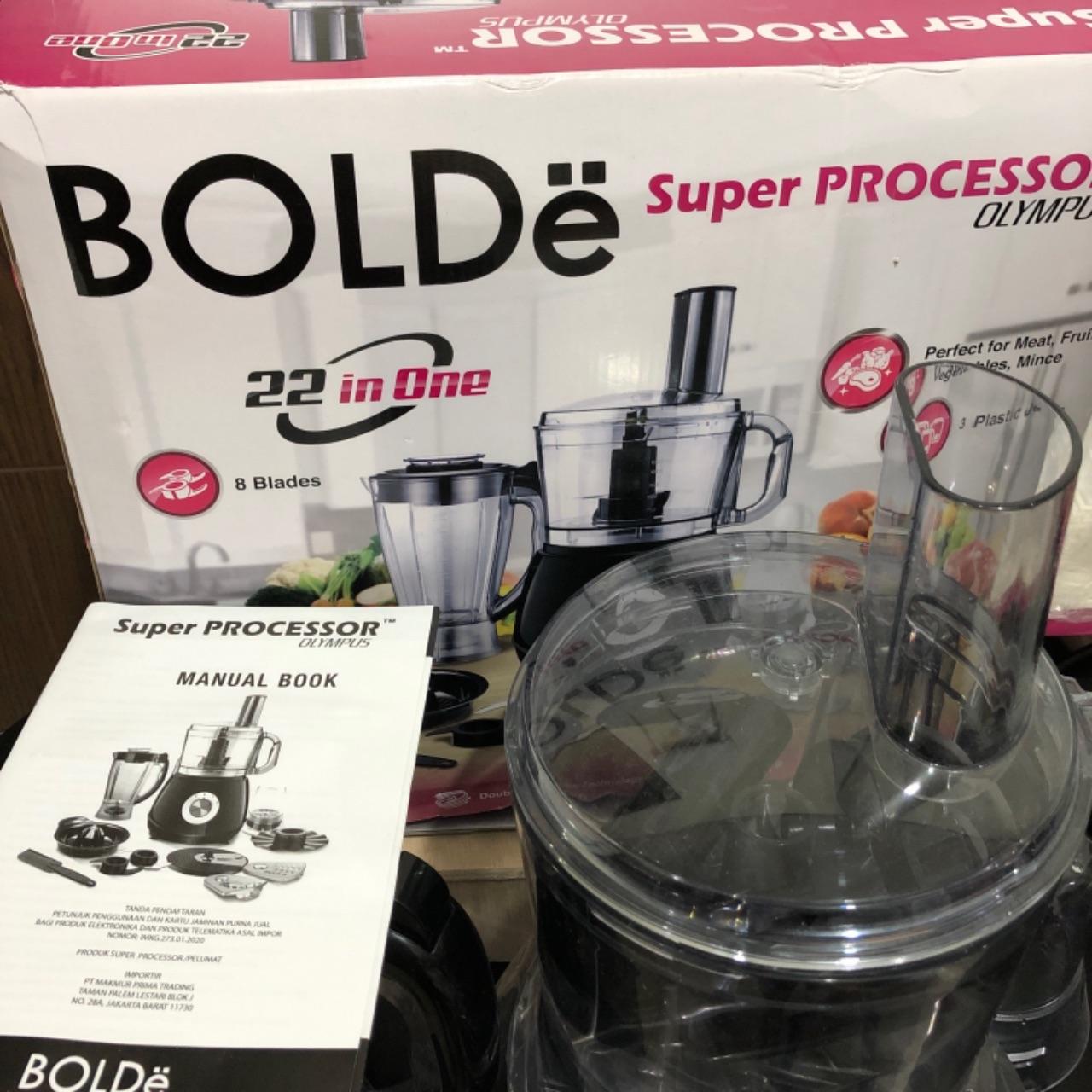 Bolde Super Food Processor Olympus 22 in 11