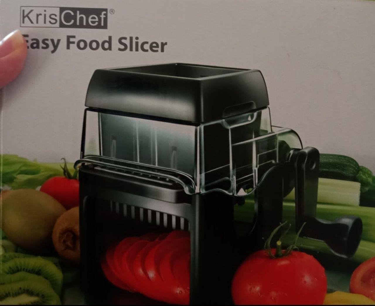Krischef easy food slicer