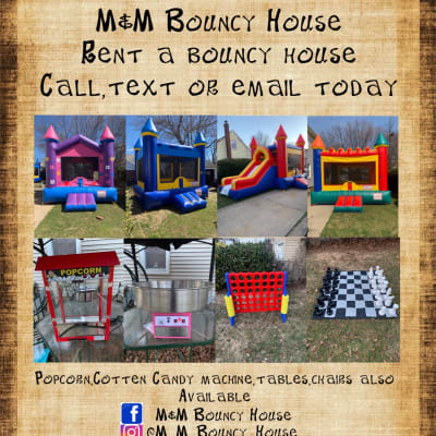 M&M Bouncy House image
