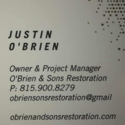 O'Brien & Sons Restoration image