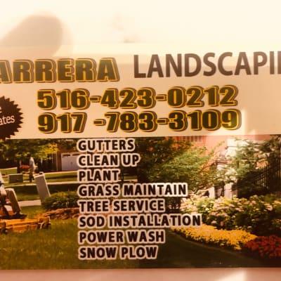 Barrrera landscaping  image