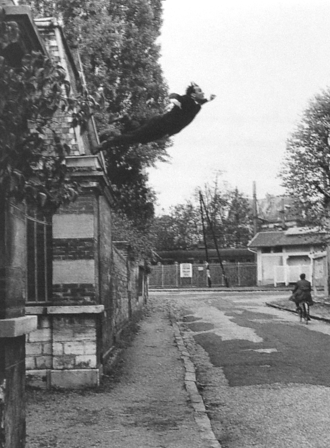 Leap into the Void - Yves Klein