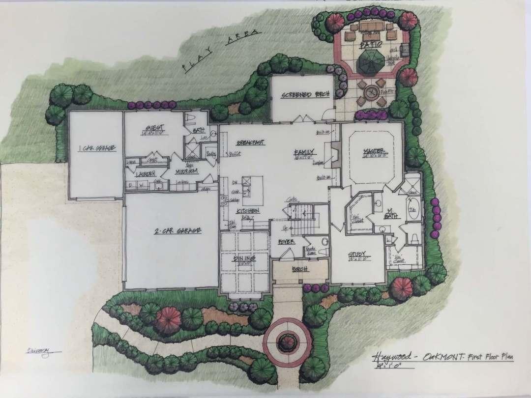 Raleigh Custom Builders – Custom Homes By Jeff Floor Plans