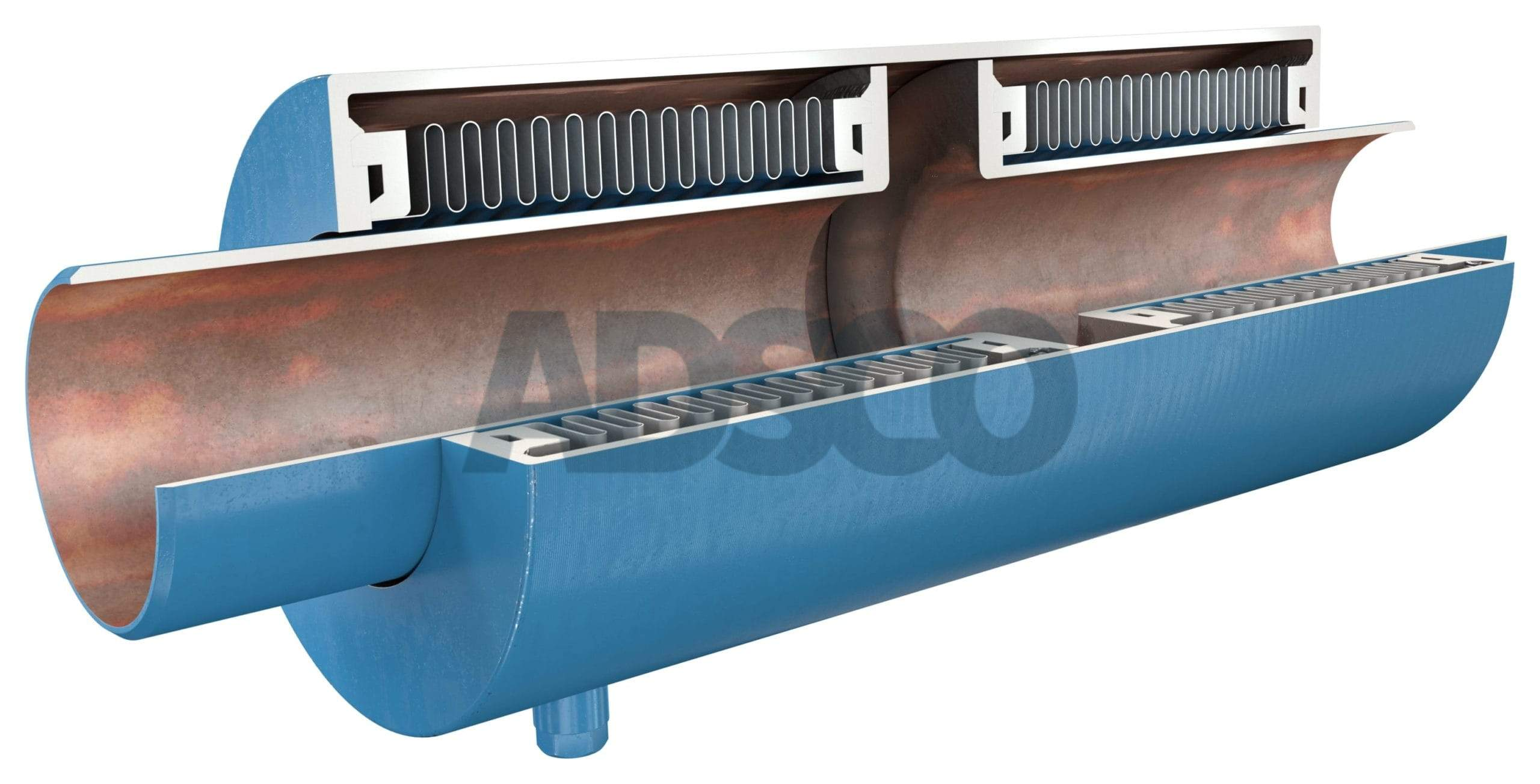 ADSCO pressure master double bellows joint with weld ends