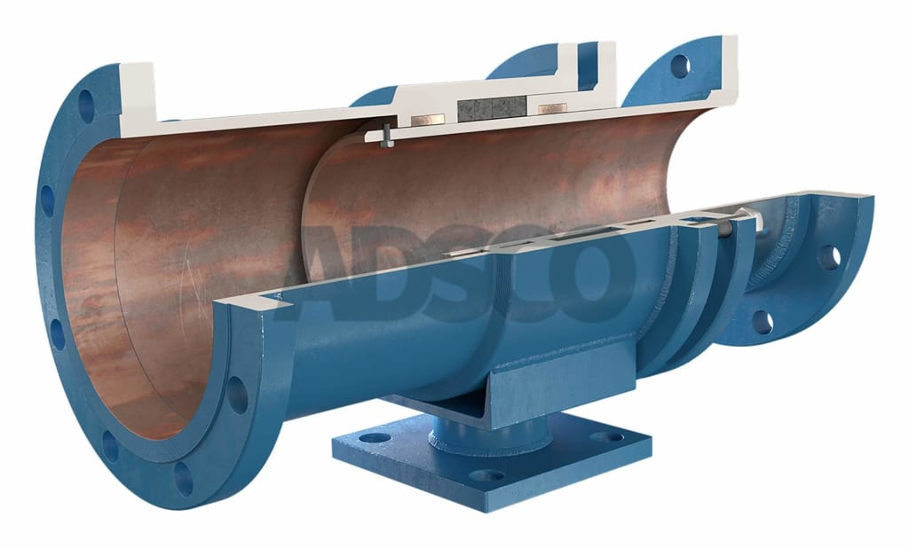 ADSCO flange ends slip type expansion joint