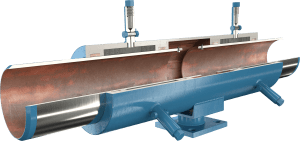 ADSCO welded ends double slip joint with stand