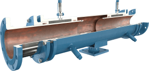 ADSCO flange ends double slip type expansion joint